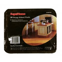 SupaHome Seife gefüllt Pads 20Blatt -