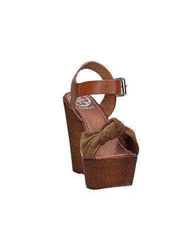 Guess FLBTT2 SUE01 Sandalo zeppa Donna Cuoio