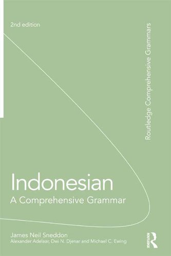 Indonesian: A Comprehensive Grammar (Routledge Comprehensive Grammars) (English Edition)
