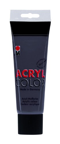 marabu-120125079-acryl-color-peinture-acrylique-225-ml-gris-fonce