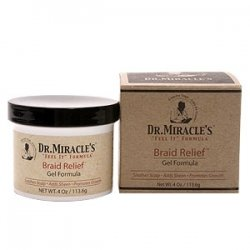 gel hydratant et fertilisant braid relief gel formula - dr miracle