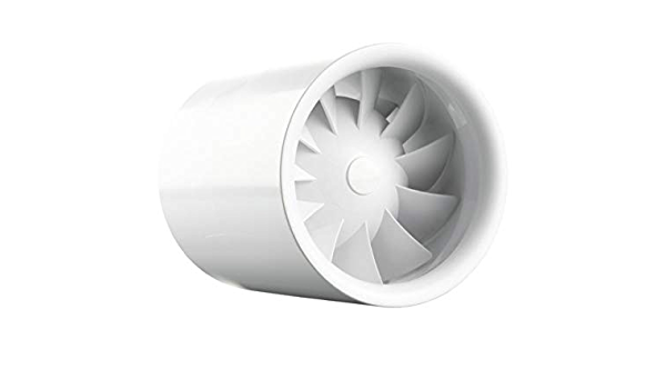 Lüfter Rohreinschub Ventilator Siku 100 Turbine Duo T1 230v 50 Hz Kugellager Baumarkt