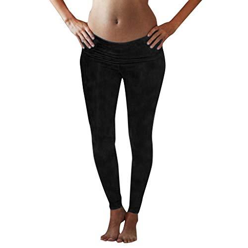 ca85e73f5 RISTHY Leggins Premamá Largos Embarazo Lactancia Pantalones Largos ...