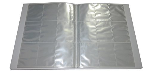 Clear Plastic A4 Trading Card Binder - 26 Pages 234 Slots - Pokemon / Yu-Gi-Oh / MTG / Match Attax (Mtg Card-binder)