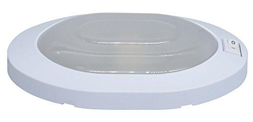 Facon 12V 4W LED Little Star Deckenleuchte Innenbeleuchtung mit ON/OFF-Schalter für Camper/ Wohnmobil /Wohnwagen/ Anhänger /Boot /Marine / Fahrzeug (Verdrahtung Marine Boot)
