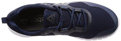 Reebok Herren Run Supreme 4.0 Laufschuhe Blau (Collegiate Navy/Washed Blue/White/Pewter)