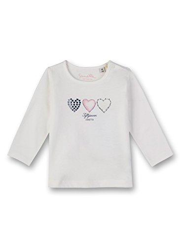 Sanetta Sanetta Baby-Mädchen Langarmshirt Shirt, Beige (Ivory 1829.0), 56