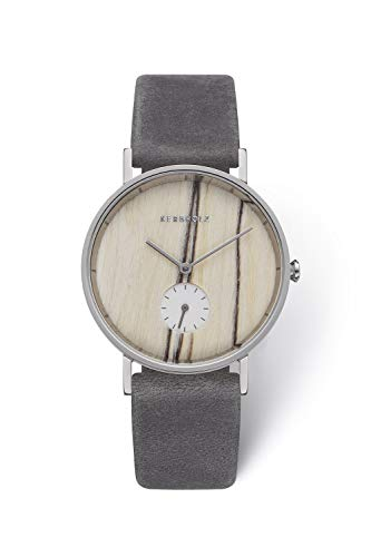 Kerbholz Damen Chronograph Quarz Uhr mit Leder Armband 4251240405308