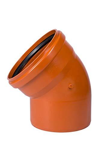 HT-Abwasser-Rohr-Bogen DN 50 IA 0° 90° verstellbar