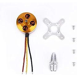 Tellaboull for Motor sin escobillas XXD 2212 KV900 / KV1000 / KV1400 / KV2200 para Bricolaje Quadcopter/hexrcopter Drone F450F550 Marca Hot