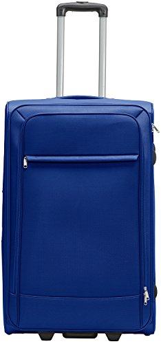 Packenger Lite Traveller Koffer Größe XL in Blau. Die Abmessungen sind  75x47x29cm.