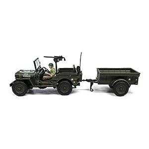 Cararama 813016 - Vehículo Militar de colección, Color Verde