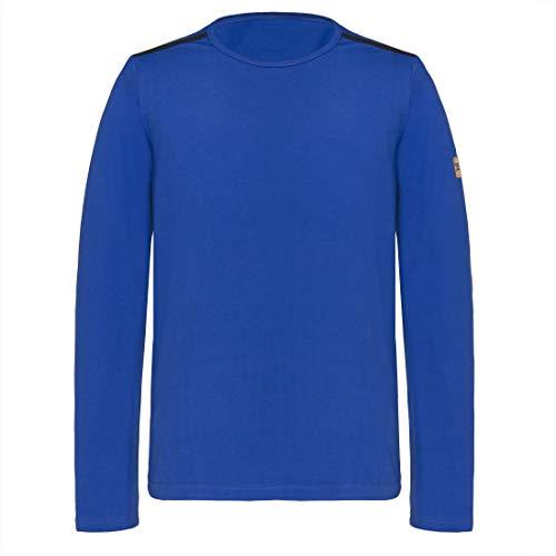 TAO Sportswear Langarm Herren Freizeit Oberteil auf Baumwolle (KBA) NIK royal 54