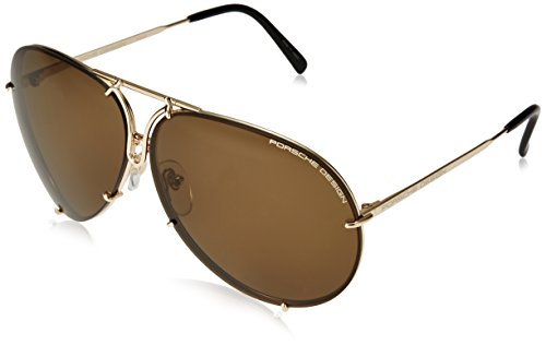 Porsche ndash; p8478 - occhiali da sole, design sonnenbrille light gold 69