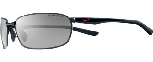 Nike Avid Wire Sunglasses (Black Frame, Grey Lens) image
