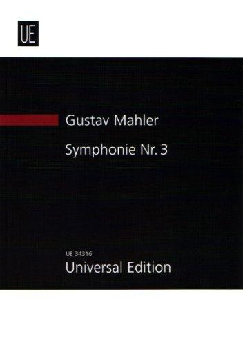 Symphonie Nr. 3: für Alt, Knabenchor, Frauenchor und Orchester. Studienpartitur.