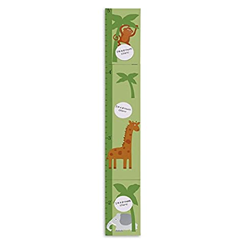 Hoddmimis Home & Living Kids Growth Height Ruler MDF with Picture Frames (Animal)