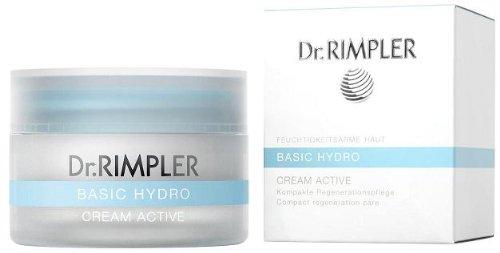 Dr. Rimpler - Basic Hydro Cream Active - Reichhaltige, aufbauende 24-Stunden-Pflege, 1er Pack (1 x 50 ml) -