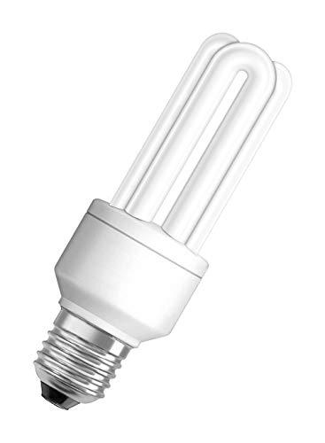 Osram 63441 Duluxstar 17 W/825, entspricht 75 Watt, Sockel E27 Energiesparlampen in Röhrenform, warmweiß -