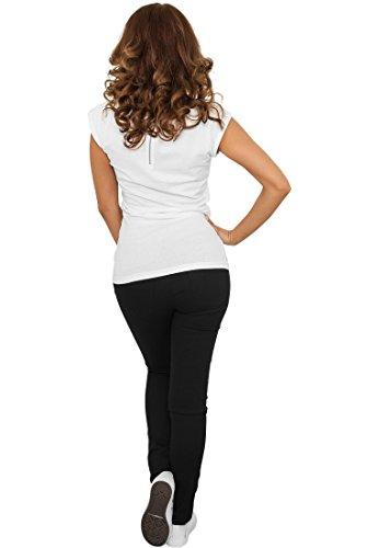 Urban Classics Ladies Treggings Pantalon Femme noir black