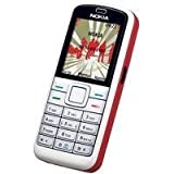 Nokia 5070 red white Handy
