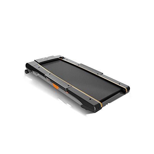 Laufband intelligentes Gehen ultradünnes Profil flaches, faltbares Laufband Kompaktlaufband - verfügbare drahtlose Fernbedienung Griffsteuerung Geschwindigkeit 8-Geschwindigkeitseinstellung