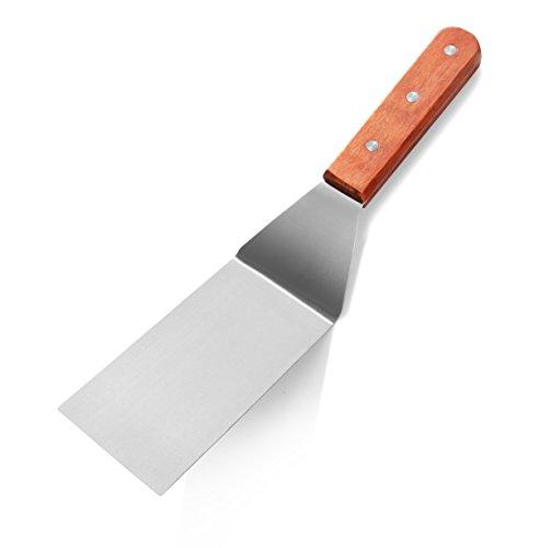 New Star Foodservice 36275Holz Griff Grill Turner/Spatel, ° (Sandwich-server)