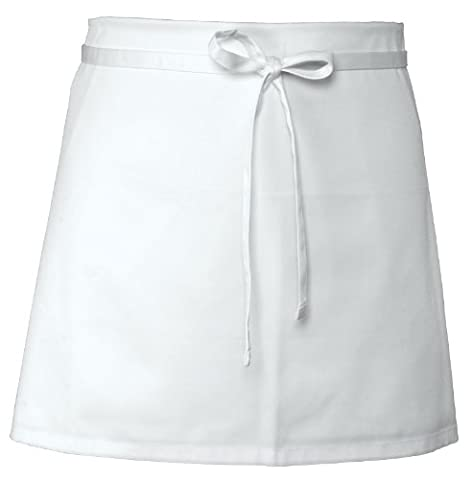 Chef Works B4 4-Way Apron, White