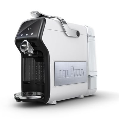 Lavazza 10080219 Italian Magia Plus Ice White Compact Coffee Machine from lavazza