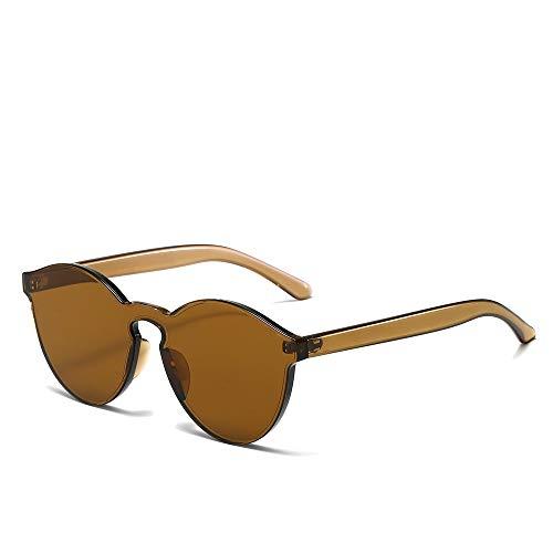 YIWU Das Sonnenbrille Großhandel Europa Und Amerika Trend Sonnenbrille Süssigkeiten Farben Damenbrille (Color : 4)