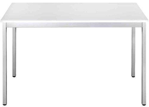 SODEMATUB 168RGA Universaltisch, 1.600 x 800, lichtgrau/alu