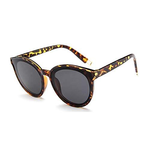 GJYANJING Sonnenbrille Cat Eye Luxus Sonnenbrille Frauen Retro Billiger Weibliche Sonnenbrille Brille Sonnenbrille