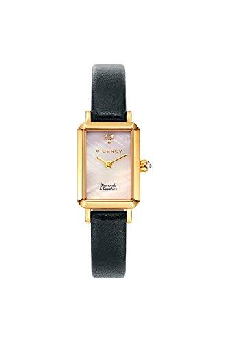 Viceroy Reloj Analogico para Mujer de Cuarzo con Correa en Cuero 461080-00