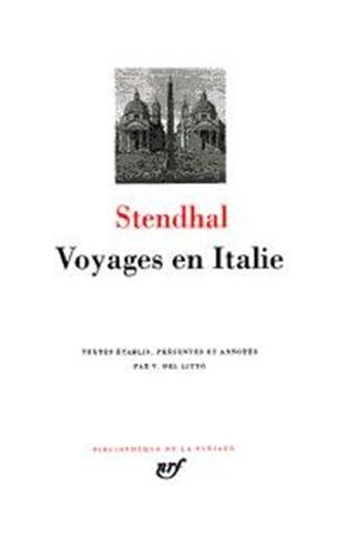 Voyages en Italie par Stendhal