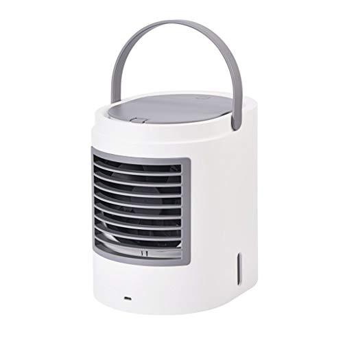 Djpcvb Klimaanlage Mini klimatisiert Office Mute Tabelle USB Spray Kleiner Kühlschrank Kühlung Kleiner Lüfter mit tragbarem Luftkühler Desktop Befeuchtung Aufladen Mobile klimaanlage (Mini-kühlschrank Tabelle,)