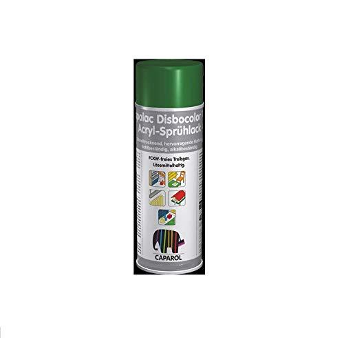 Caparol Capalac Disbocolor 781 Seidenmatt - Acryl Sprühlack 400 ml Rallye Schwarz -