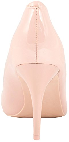 Elara Damen Pumps Spitze High Heels Stilettos Lack Pink Lack
