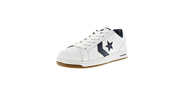 87c5e8c4c852 Converse Karve Ox Skate Shoes White navy Sz White Size 7.5 Men s   9  Women s D(M) US  Buy Online at Low Prices in India - Amazon.in