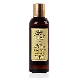 Kama Ayurveda Rose and Jasmine Bath and Body Oil, 100ml