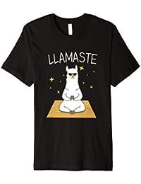 Llamaste Yoga Llama T-Shirt Llama Lovers Religious Shirt