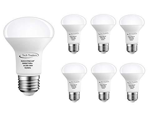 9w Led Spot Lampe (Tech Traders R63Reflektor LED Lampe Spot Strahler, Aluminium/Kunststoff, E27, 9W, weiß)