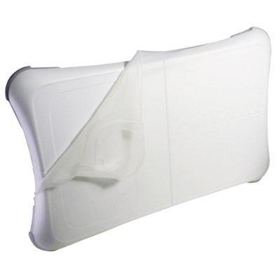 Price comparison product image Invero Wii Fit Silicon Skin Cover for Nintendo Wii Fit Balance Board White