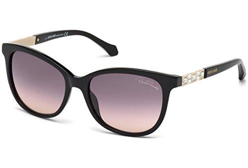 Roberto Cavalli RC904S C55 01B (shiny black / gradient smoke) Sonnenbrillen