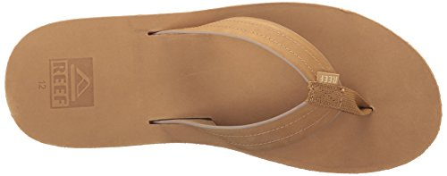 Reef Herren Machado Night Brown Zehentrenner Sand