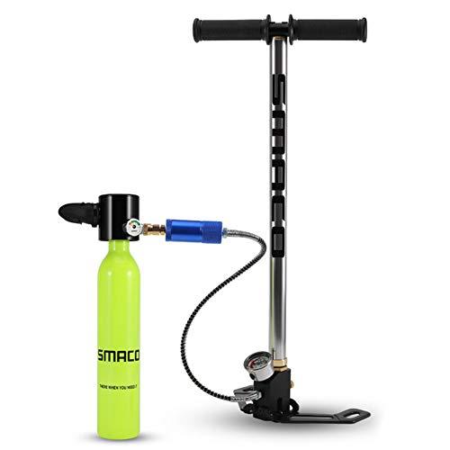 WARM ROOM Mini Diving Diving Cylinder Sauerstofftank, Gerätetauchen Totale Freiheit 5 bis 10 Minuten unter Wasser atmen