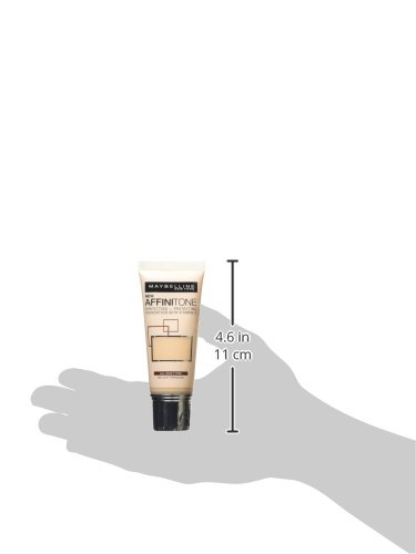 Maybelline Affinitone Foundation, Light Porcelain Number 02 30 ml
