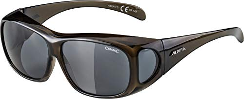 Alpina Sonnenbrille Optic-Line OVERVIEW black transparent, One Size