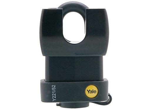 Yale Y221/52/125/1 Candado de Seguridad Resistente a la Intemperie, 50 mm