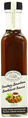 Cottage Delight Smokey Bourbon Barbecue Sauce 220 ml (Pack of 2)