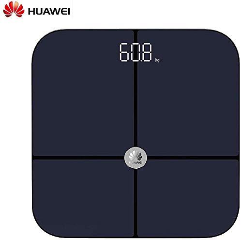 WUXXX Digitale Paketwaage, Plattformwaage, Digitalwaage, Ablesbarkeit 50 g, 27 x 27 cm, großes Display, Edelstahlplattform, kg und Pfund, Wägebereich 200 kg